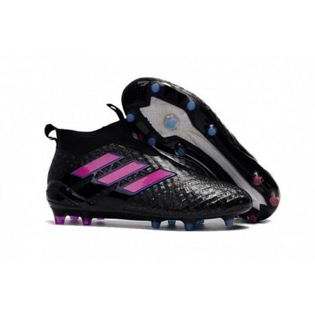 Adidas ACE 17+ Purecontrol FG - Core Noir / Shoock Rose / Bleu