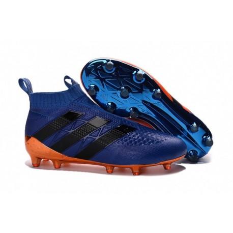 2016 Adidas ACE 16+ Purecontrol FG Bleu et Orange