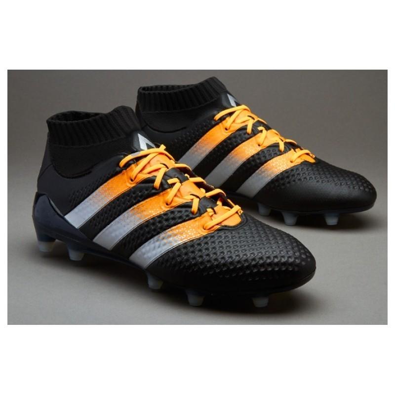 buy online 0e851 23837 new zealand cheap adidas ace 16.1 primeknit fg ag crampons de football core  noir maté argent