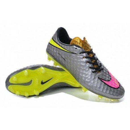 Nike Neymar Hypervenom Phantom FG Bottes de football Liquid Diamond