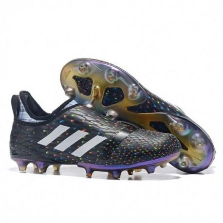 Adidas Glitch 17 FG - noyau noir / rouge / blanc solaire