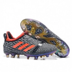Adidas Glitch 17 FG - Gris / Noir / Orange
