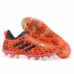 Adidas Glitch 17 FG - Rouge / Noir