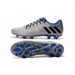 2016 Adidas Messi 16.3 Copa America Argent Metallic Core Noir Shock Bleu