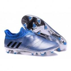 Nouveau adidas Messi 16 + Pureagility FG-AG - Argent métallisé-noyau Noir-Shock Bleu