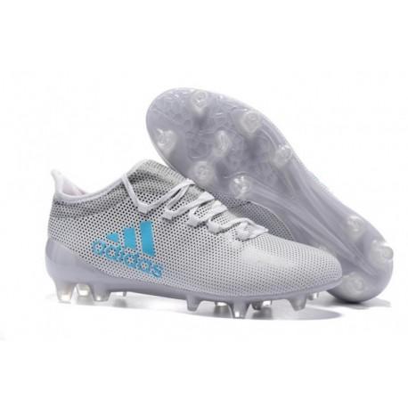Adidas X 17.3 FG - Blanc / Gris