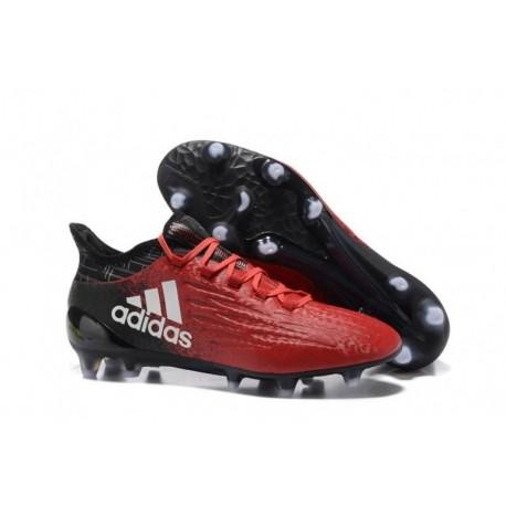 2017 adidas X 16.1 FG Crampons de football - Rouge / Blanc / Noir