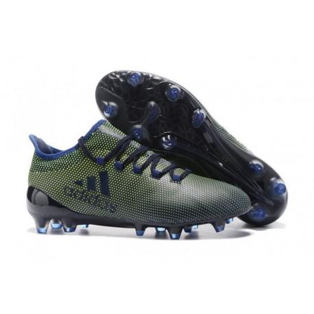 Adidas X 17.3 FG - noyau noir / jaune / violet