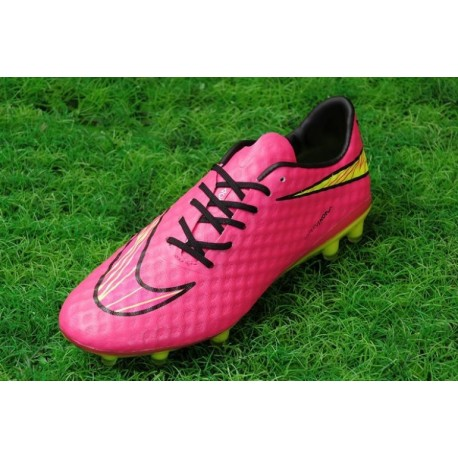 Bottes de football Nike Hypervenom Phantom FG Rose Or Noir