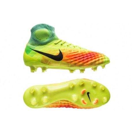 sports shoes b0d99 b48dd australia nouveau nike magista obra ii fg volt noir total orange rose blast  hyperturquoise bcc63 64252