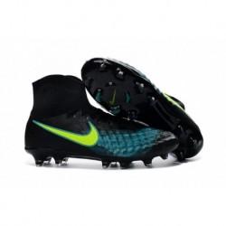 Cheap Nike Magista Obra II FG Noir Vert Jaune