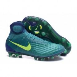Nike Magista Obra II FG Soccer Cleats Rio Teal / Volt / Obsidienne / Jade Clair