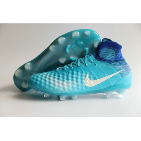 Nike Magista Obra II FG - Turquoise-Blanc