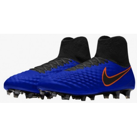 2016 Nike Magista Obra II FG Bleu Orange