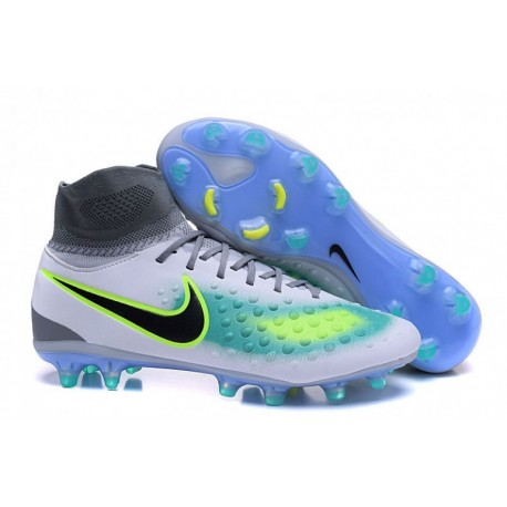 Nike Magista Orden II FG - Pure Platinum-Ghost Vert-Clear Jade