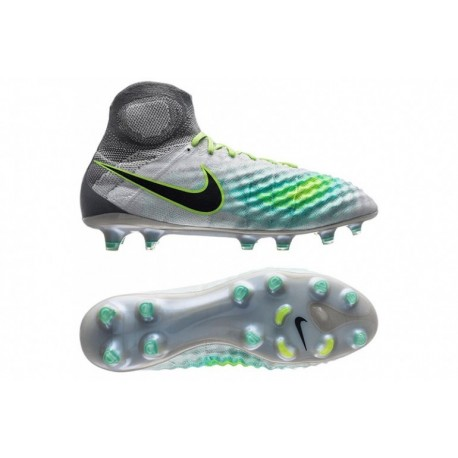 2016 Nike Magista Obra II FG Elite Pack - Pure Platinum-Ghost Vert-Clear Jade
