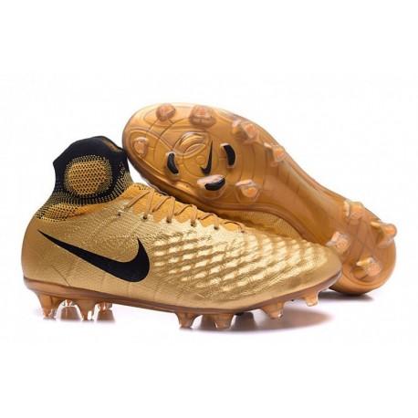 Prix Nike Magista Obra II FG Soccer Cleats Or / Noir