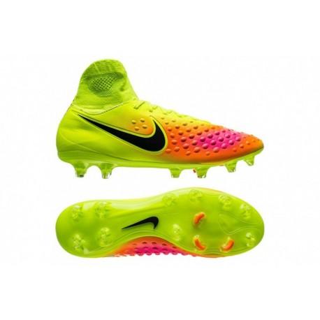 Nike Magista Orden II FG Volt-Noir-Total Orange-Rose Blast-Hyper Turquoise