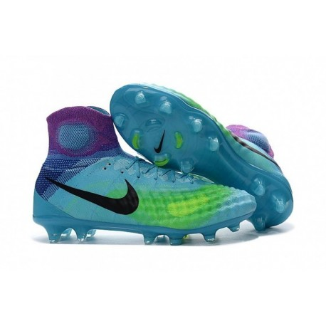 Cheap Nike Magista Obra II FG Pure Platinum / Noir / Ghost Vert