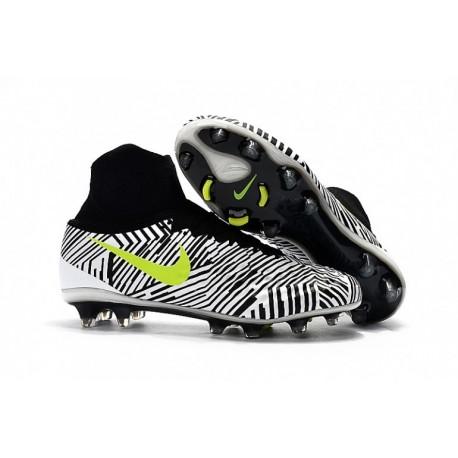 Nike Magista Obra II FG Blanc Noir Volt