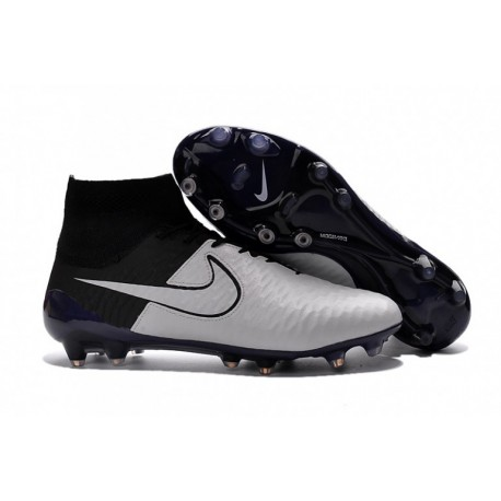 Cheap Nike Magista Obra FG Soccer Cleats Leather Light Bone Noir