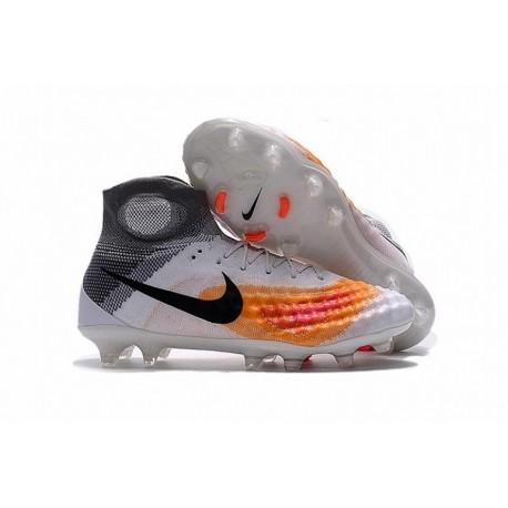 Cheap Nike Magista Obra II FG Blanc / Orange / Noir