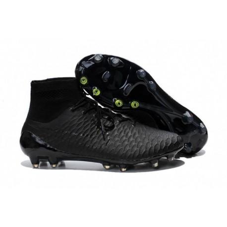 Bottes de football Nike Magista Obra FG Noir Noir Noir Volt