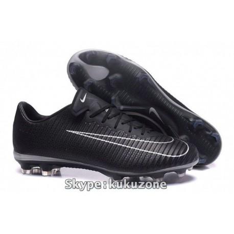 2017 Nike Mercurial Vapor XI TC FG Soccer Cleats noir