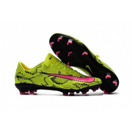 Nike Mercurial Vapor XI FG - Jaune / Rose