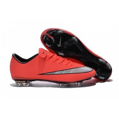 Nike Mercurial Vapor X FG Soccer Cleats Bright Mango / Hyper Turquoise à Pas Cher