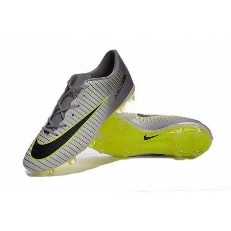 Nike Mercurial Vapor XI FG Talons de football pour hommes Pure Platinum / Noir Ghost / Vert / Hyper Turquoise