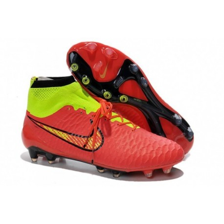 Bottes de football Nike Magista Obra FG Rose