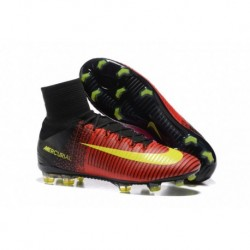Nike Mercurial Superfly V FG Euro 2016 Total Crimson Noir Rose Blast Volt