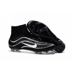 Nike Mercurial Superfly Heritage FG iD Crampons de football pour hommes Noir