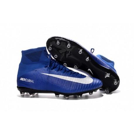 2016 Nike Mercurial Superfly V AG-Pro - Bleu-Blanc