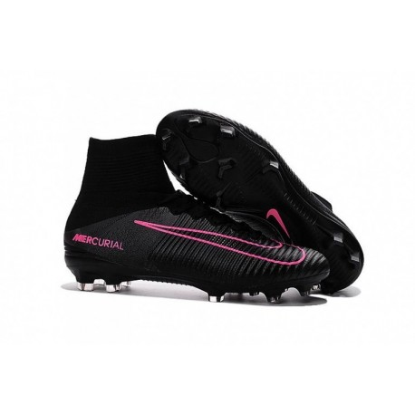 Nike Mercurial Superfly V FG EURO 2016 Noir Rose Blast Pitch Noir