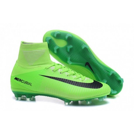 2016 Nike Mercurial Superfly V FG - Electric Vert-Noir-Flash Lime