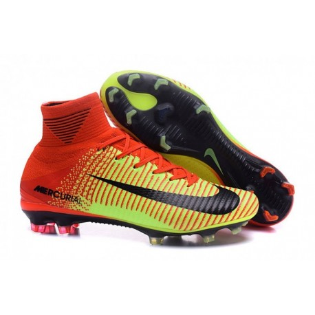 Nike Mercurial Superfly V FG Bright Citrus-Volt-Noir