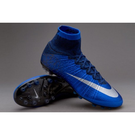 Nike Mercurial Superfly CR7 AG-R Deep Royal Bleu-Metallic argent-Racer Bleu
