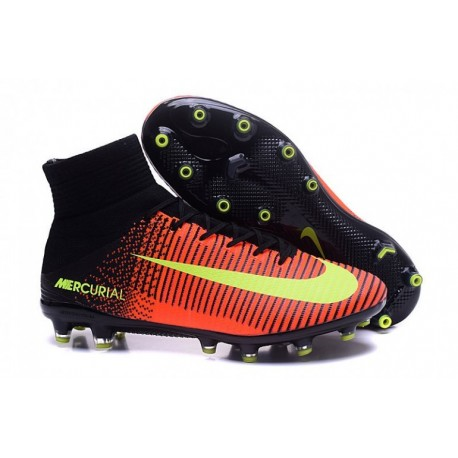 Nike Mercurial Superfly V AG-Pro - Total Crimson-Volt-Rose Blast