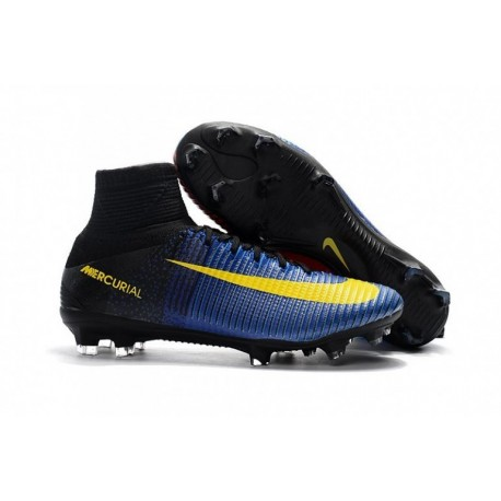 2017 Nike Mercurial Superfly V FG Racer Bleu / Bright Citrus / Hyper Grape