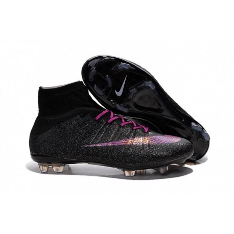 Bottes de football Nike Mercurial Superfly FG Noir Violet