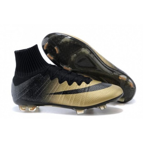 Bottes de football Nike Mercurial Superfly CR7 FG Rare Or