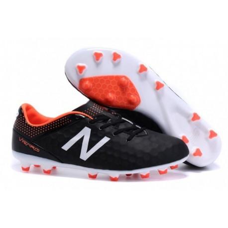 Bottes de football New Balance Visaro Pro FG Noir Blanc