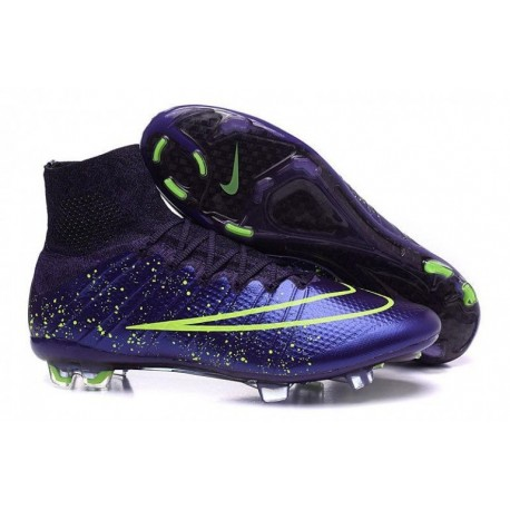 Nike Mercurial Superfly FG Soccer Cleats Violet Volt