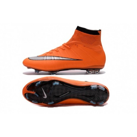 Nike Mercurial Superfly FG - Orange-Argent