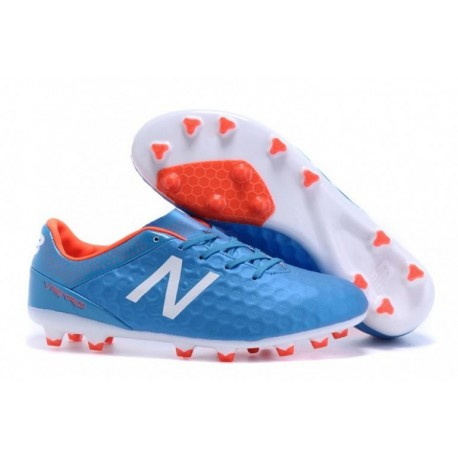 New Balance Visaro Pro FG Bottes de football Bolt Flame Blanc