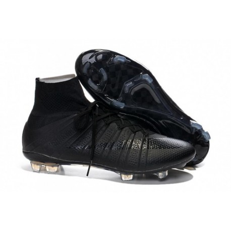 Bottes de football Nike Mercurial Superfly FG Noirout