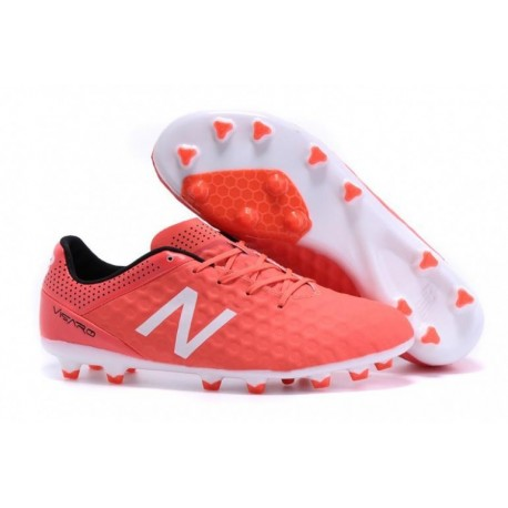 New Balance Visaro Pro FG Soccer Cleats Rouge Blanc