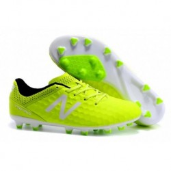 Bottes de football New Balance Visaro Pro FG Jaune blanc